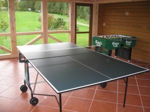 Stalo tenisas ir stalo futbolas